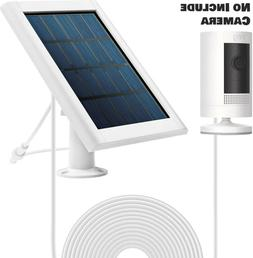 Solar Panel for Ring Spotlight Cam Stick Up HD Security Came