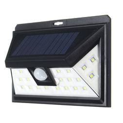Solar Power Outdoor 24 LEDs Wireless Waterproof Motion Senso