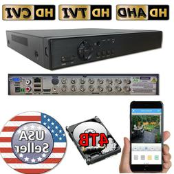 Sikker 16 Ch Channel DVR Home Security recorder system HDMI