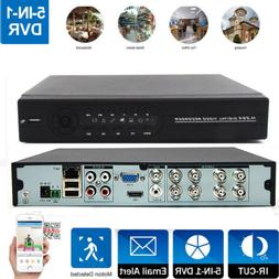 Surveillance 8CH 5in1 H.264 HDMI DVR Video Record for CCTV H