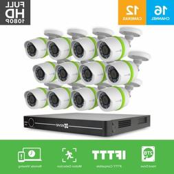 EZVIZ FULL HD 1080p Outdoor Surveillance System, 12 Weatherp