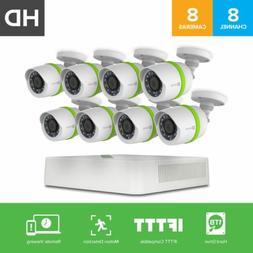 EZVIZ HD 720p Outdoor Surveillance System, 8 Weatherproof HD