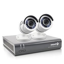 New Swann SWDVK-445752-LW 4 Channel 1080p Security System &