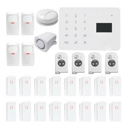 Touch Screen APP GSM Home Security Alarm System Fire Smoke P