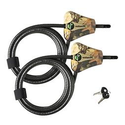Master Lock Python Trail Camera Adjustable Camouflage Cable