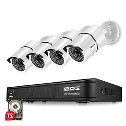ZOSI 1080p Security Camera System for Home, Hybrid Security