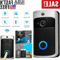Two-Way Smart Wireless WiFi Doorbell Video HD PIR Door Bell