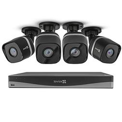 EZVIZ 4K UltraHD 8MP Outdoor IP PoE Surveillance System, 4 W
