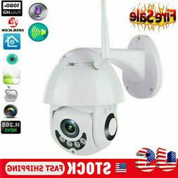 999+SALE 1080P WIFI IP Camera WHITE Wireless Outdoor CCTV HD