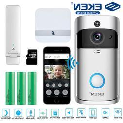 EKEN V5 Video Doorbell Smart Wireless WiFi <font><b>Security