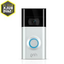 video doorbell 2 satin nickel or venetian