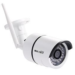 Vikcam by Virtoba HD 720P WiFi Security Bullet Camera Weathe