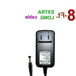 KHOI1971 8-FEET Cord Wall AC Power Adapter Cable for Black U