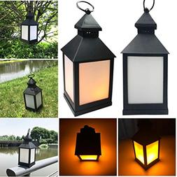 Yeefant Waterproof Outdoor Hanging LED Flickering Lamp Lands