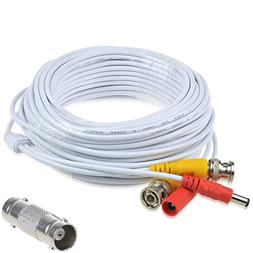 AT LCC 65ft White Extention Power/Video Cable for Swann Secu