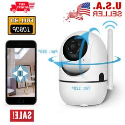 Wifi 1080P Security Camera IP Outdoor Surveillance Night Vis