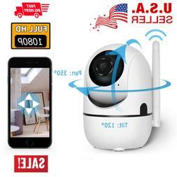 Wifi 1080P Security Camera IP Outdoor Surveillance Night Vis
