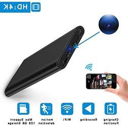 Wifi Hidden Spy Camera HD 4K Mini Home Security Cam Night Vi