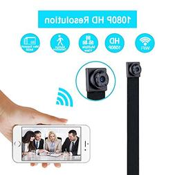 WiFi Spy Camera, Ruidla Wireless Mini Hidden Camera 1080P HD