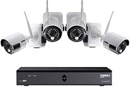 Lorex 100% Wire-Free Security System,6 Channel, 4 Cameras, D