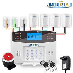 Wired & Wireless GSM <font><b>Home</b></font> Burglar <font>
