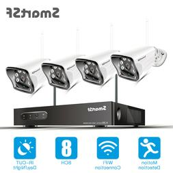 Xtech Wireless 4CH 1080P NVR Outdoor indoor WIFI Camera CCTV
