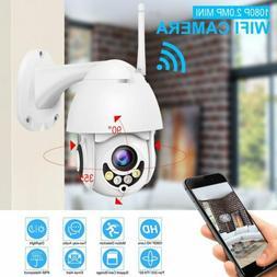 Wireless 5X ZOOM Outdoor CCTV HD 1080P WIFI IP Camera Home S