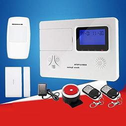 Big-time 2G Wireless Alarm System for Home Office Business