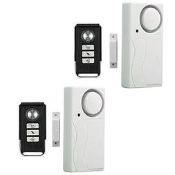 Wireless Remote Door Alarm, Windows Open Alarms,Magnetic Sec