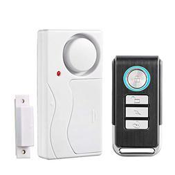 Wireless Door Alarm with Remote, Anti-Theft Window Alarms, C