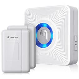 Fosmon Wireless Door Open Chime with 1 Receiver + 2 Door Sen