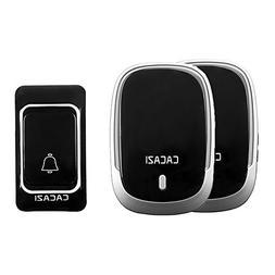 MIAO@LONG Wireless Doorbell In 984-Feet Range Use Have 36 Ch