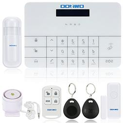 OWSOO Wireless LCD GSM & SMS Auto Dialer Home House Security