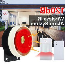 Wireless Home Alarm Security Burglar Intruder System Siren P