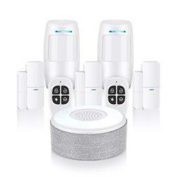 Wireless Home Security Alarm Burglar System  8 Piece kit APP