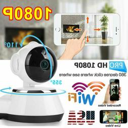 Wireless Home Security Camera Indoor Wifi Smart System Monit