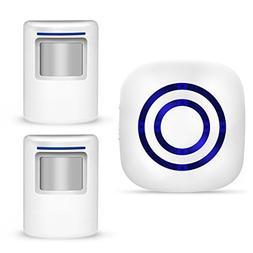 GEEAIR Driveway Alarm Wireless, Motion Sensor Doorbell Home