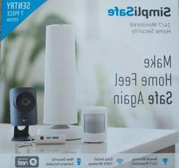 Simplisafe Wireless Home Sentry 7 Piece Security System w/ C