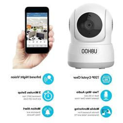 Wireless IP Camera UOKOO 720P HD Home WiFi Security Surveill