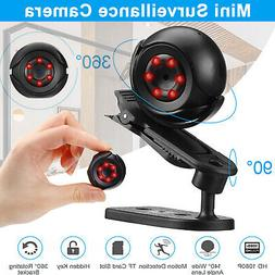 Mini HD 1080P IP Camera Home Outdoor 360° Motion Security C