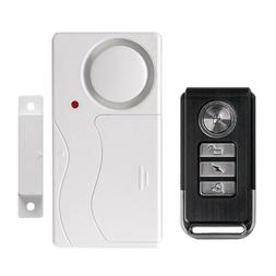 Wireless Remote Control Magnetic Sensor Door Window Home Sec