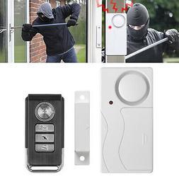 Wireless Remote Control Magnetic Sensor Door Window Home Sec