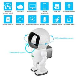 HD wireless Robot IP Camera,FEISIER 960P Security Camera 1.3
