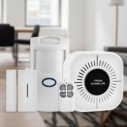 Wireless Security Alarm System Home Wifi App Remote PIR Door