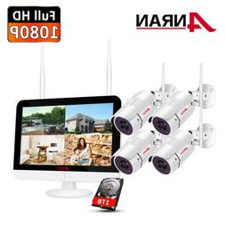ANRAN Wireless Security Camera System Outdoor Home 4CH 8CH 7