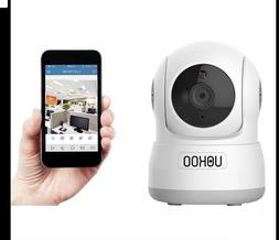Wireless Security Camera, UOKOO 720P HD Home WiFi Wireless I