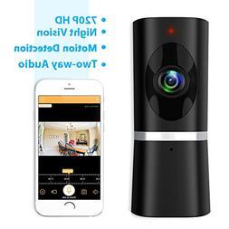 Wireless Security Camera, Takihoo WiFi IP Indoor Home Baby P