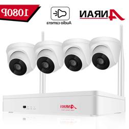 960P HD 4Pcs Wireless Outdoor Security Camera System 8CH 108