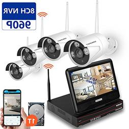 SMONET  Wireless Security Camera System, 8CH 960P Video Secu
