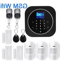 Wireless SIM GSM <font><b>Home</b></font> RFID Burglar <font